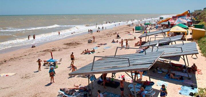 От 3 дней отдыха в августе в комплексе «Прибой» на первой линии в Кирилловке на Азовском море