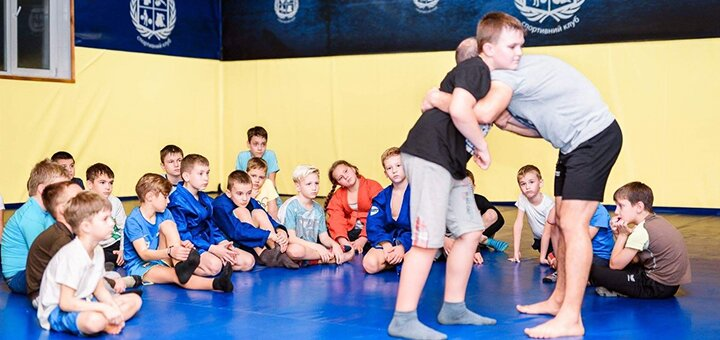Месяц занятий боевым самбо для детей до 8 лет в спортивном клубе «Greka MMA»