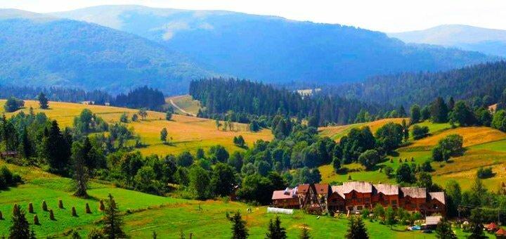 5 дней отдыха All Inclusive для двоих в эко-отеле «Изки» в Закарпатье