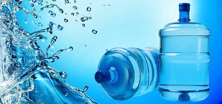 До 10 бутылей питьевой воды с бесплатной доставкой домой или в офис от компании «Акведук»