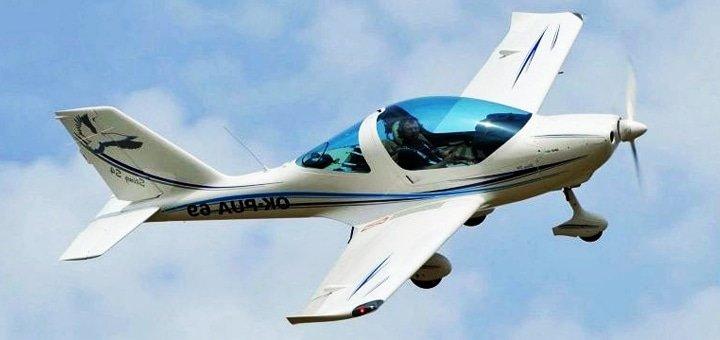 Скидка до 44% на ознакомительный полет на самолете «Sting» или «Cessna 172» от агенства «Всем Полет»