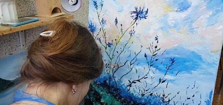 До 12 занятий по базовому курсу рисования для начинающих в школе рисования «ARThand»