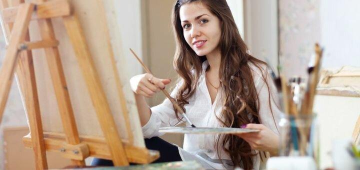 Мастер-класс по написанию картины «Картина чернилами» в творческой мастерской «Art Hobby»