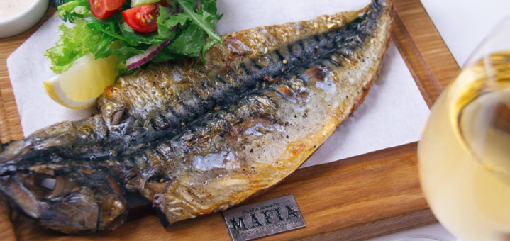 Скидка 50% на все меню кухни в семейном ресторане «Mafia» на Ярослава Мудрого