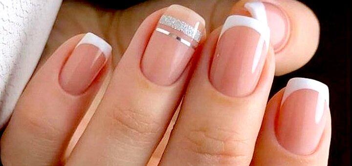 Маникюр и педикюр с покрытием гель-лаком или гелевое наращивание ногтей в студии маникюра «L'NAILS studio»
