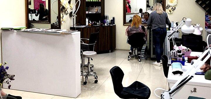 Ламинирование «Felps» для волос со стрижкой кончиков и укладкой в салоне «NogotOk»