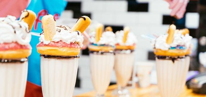 Скидка 40% на сеты в кафе «Fifties»