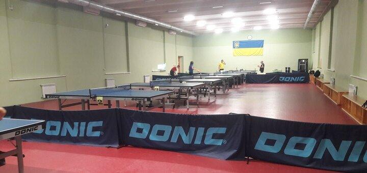 До 3 занятий настольным теннисом с тренером в клубе «Спорт»