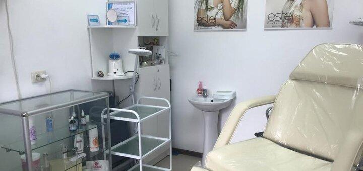 Миндальный пилинг лица в косметологическом кабинете Людмилы Горшковой