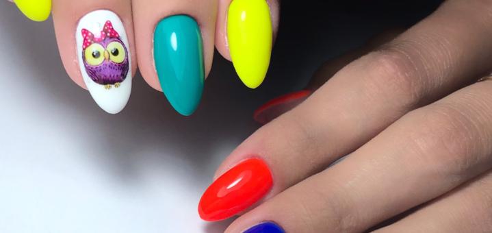 Скидка до 52% на наращивание ногтей с покрытием и коррекцию в «Orlova nail room»