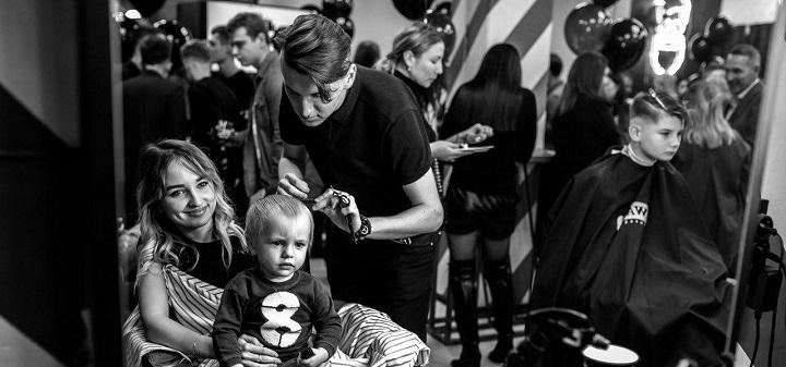 Мужская и детская стрижка, коррекция бороды в барбершопе «Detroit»