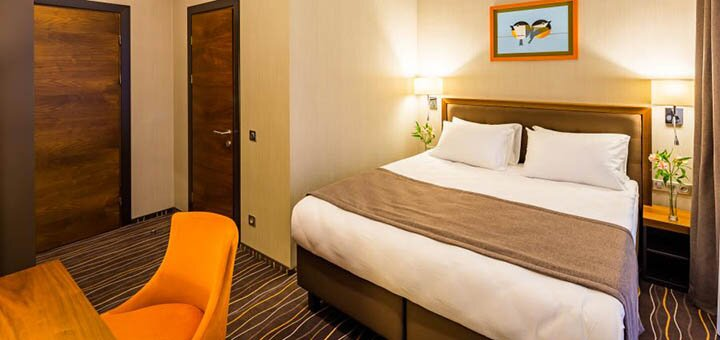 От 2 дней отдыха с завтраками в отеле «Taurus City» с панорамным видом на Львов