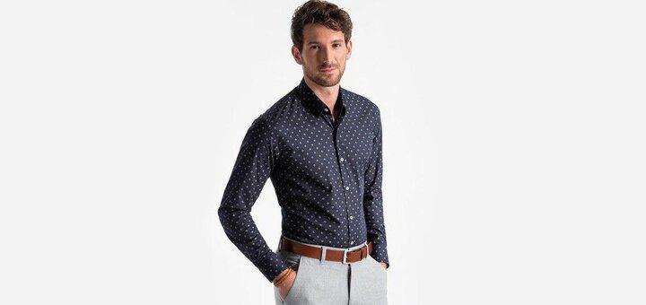 Скидки до 30% на рубашки от «Ombre»