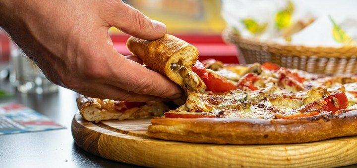 2 пиццы «Вегетарианская», «Цезарь с курицей» или «Четыре сыра» в ресторане «Diner»
