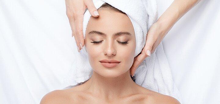Скидка до 66% на чистку лица с массажем и дополнительным уходом в кабинете косметологии «Шарм»