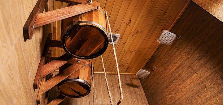 3 часа отдыха в бане на дровах на берегу Десны в загородном комплексе «Дача на Десне»