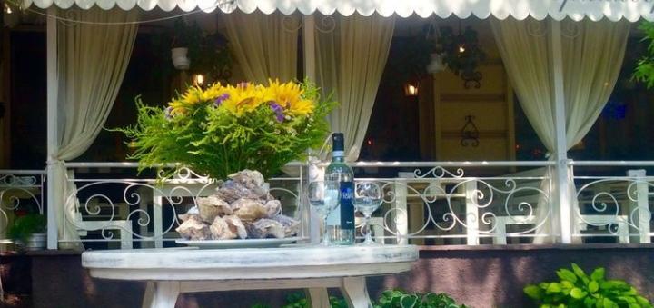 Сет с тунцом и вино в итальянском ресторане «Примавера»