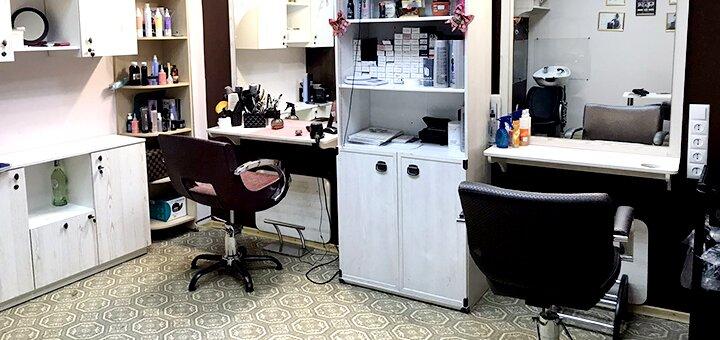 Стрижка, окрашивание, укладка или SPA-процедуры для волос в студии красоты «Hair Studio»
