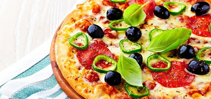 Знижка 50% на все меню піц від мережі піцерій на дровах «Сiao Bella» у Львові!